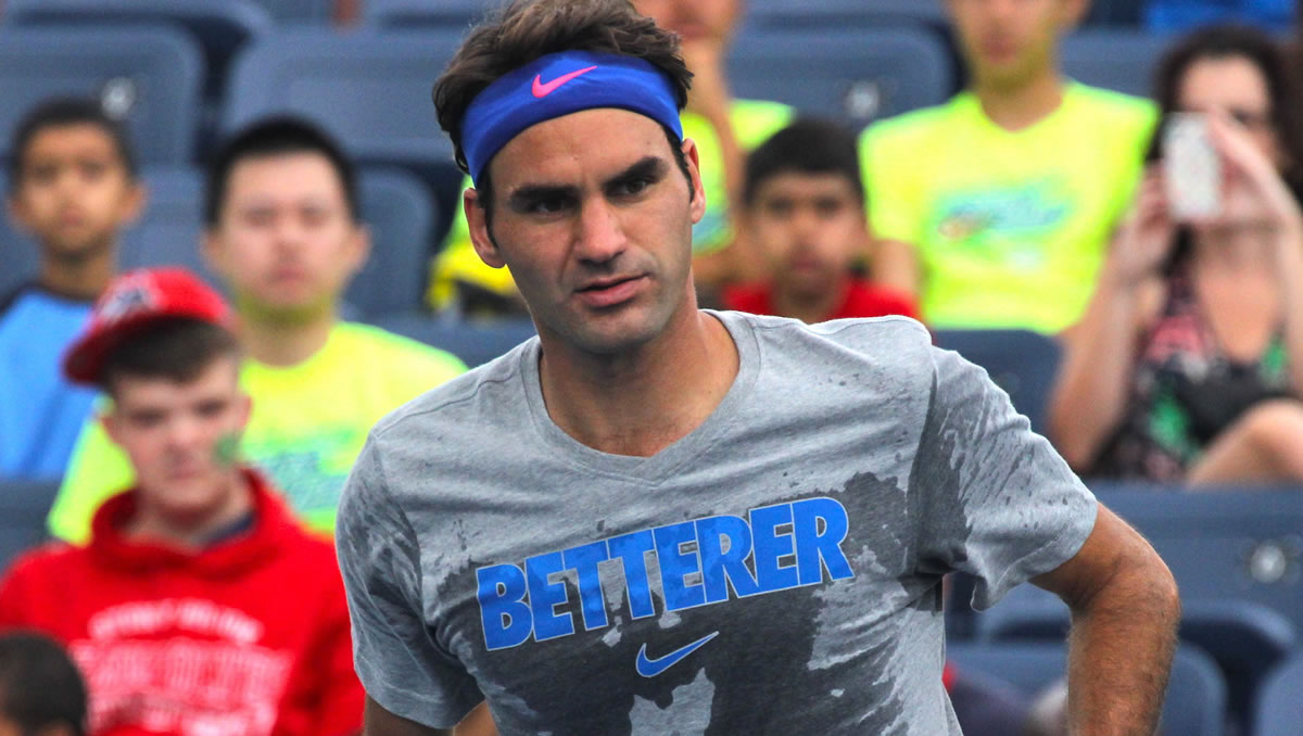 "US Open 2014: ""Betterer"" become ""sweaterer""—symmetrically."