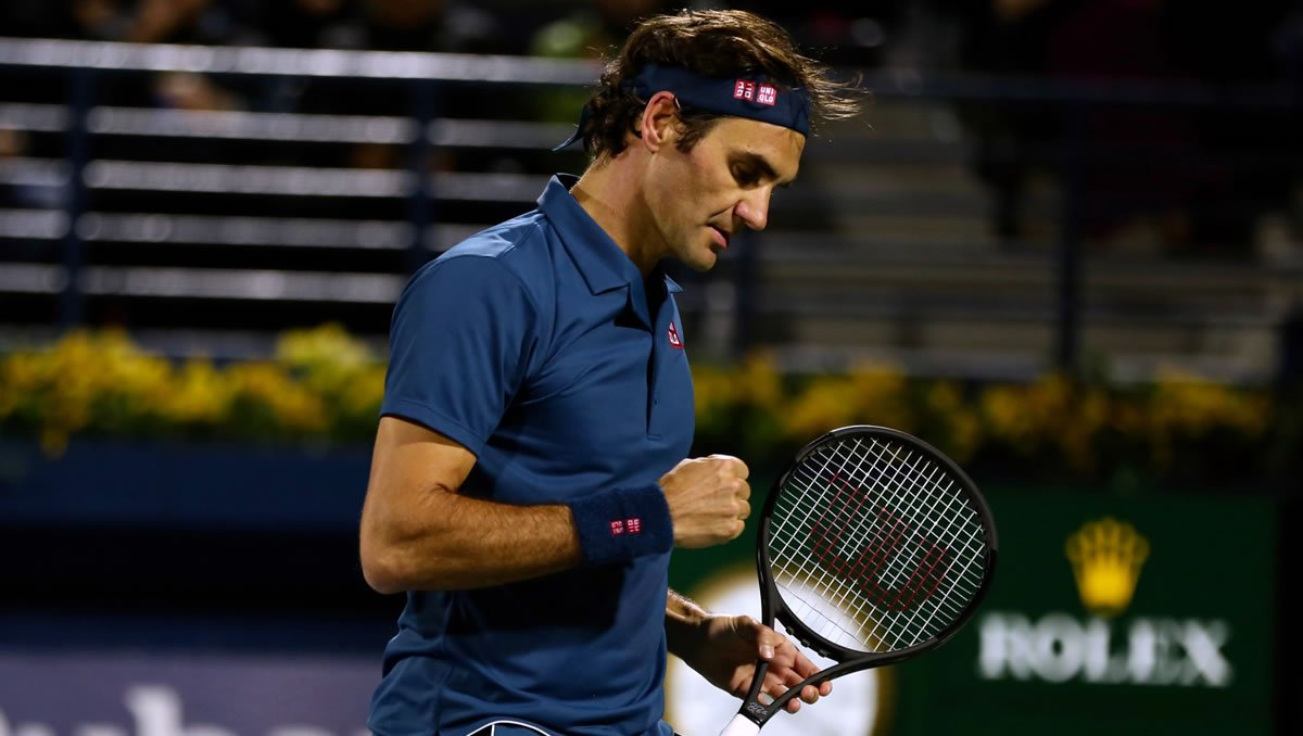 Roger Federer (Photo: Marianne Bevis)
