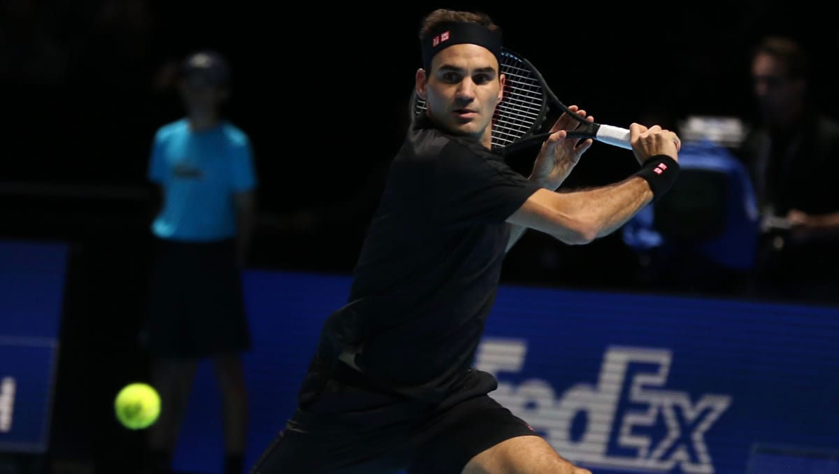 London 2019, and back in black 12 years after breaking out 'Darth Federer' in New York.