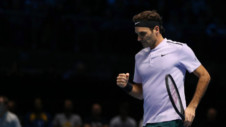 Nitto ATP Finals: Federer wins battle of the ages over Zverev to reach 14th semi-final