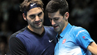 Federer downs Djokovic for 50th Tour Finals win