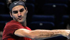 Federer takes positives out of Monfils loss, but tight-lipped about doubles