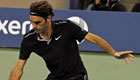 US Open 2014: Michael Jordan watches on as Roger Federer cruises
