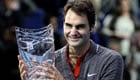 Federer and Edberg share The O2 stage in London