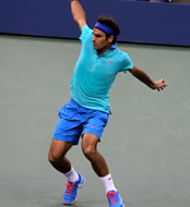US Open 2014: Roger Federer and New York storm into fourth round
