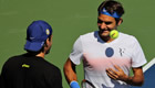 Indian Wells 2014: Bold Haas extinguished by Federer's friendly fire