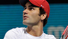 Federer hopeful his back will hold up against Tsonga