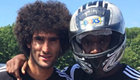 Fellaini goes karting with Liverpool target