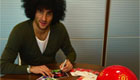 Photo: Man Utd star Marouane Fellaini responds to fan mail