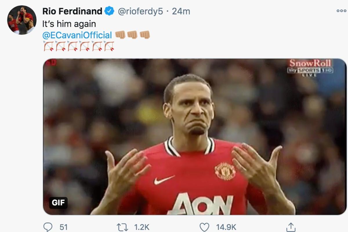 Super-sub Edinson Cavani inspires Manchester United fightback against Southampton
