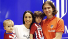 Photo: Filipe Luis happy to be home after Chelsea exit
