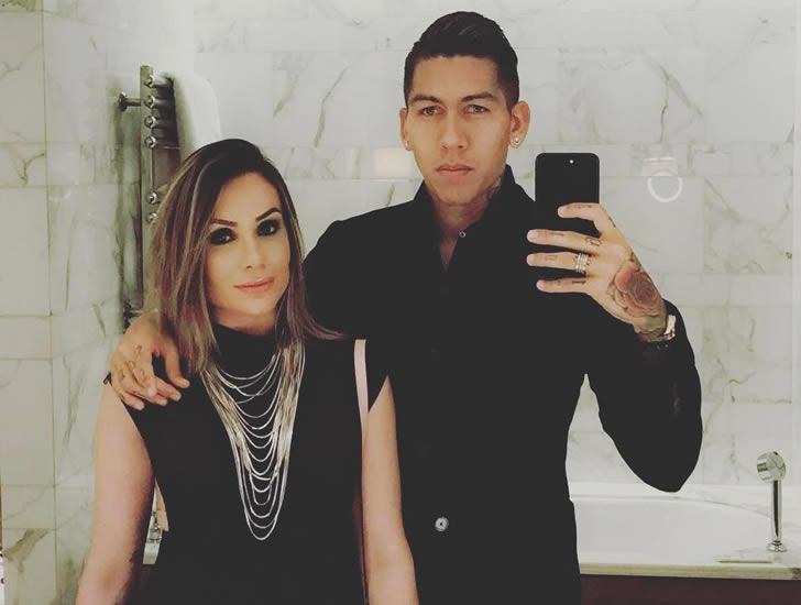 Roberto Firmino and his wife Larissa Pereira (Photo: Roberto Firmino / Instagram)