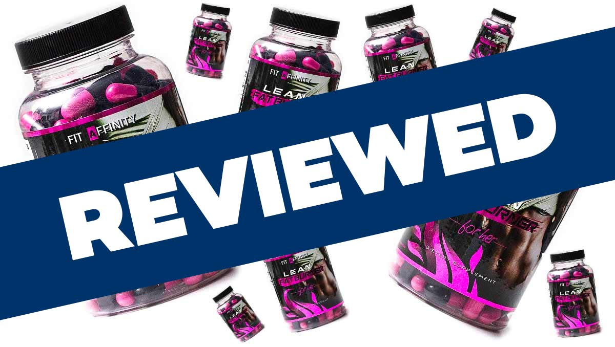 Fit Affinity Lean Fat Burner For Her Review