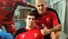 Photo: Martin Skrtel welcomes back Liverpool's 'main man'