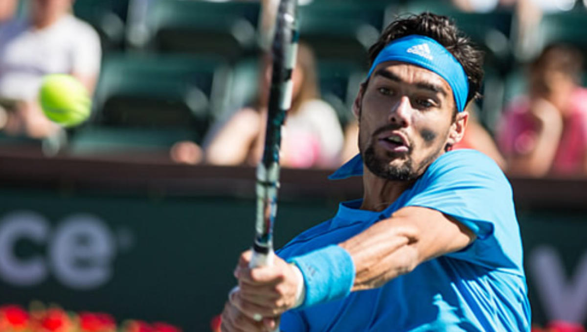 Fabio Fognini (Photo: Marianne Bevis)