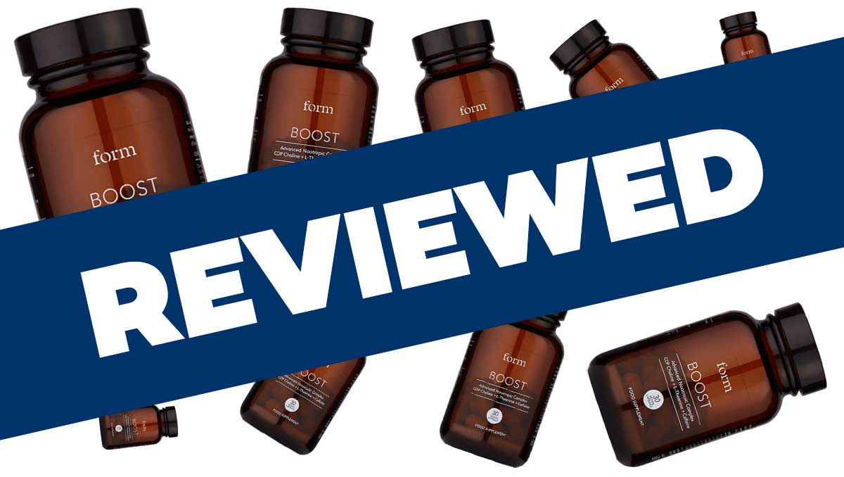 Form Nutrition Boost Nootropic Supplement Review