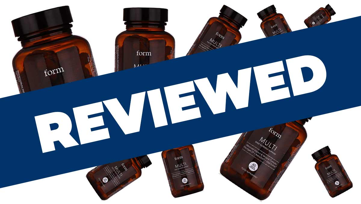 Form Nutrition Multi Supplement Review