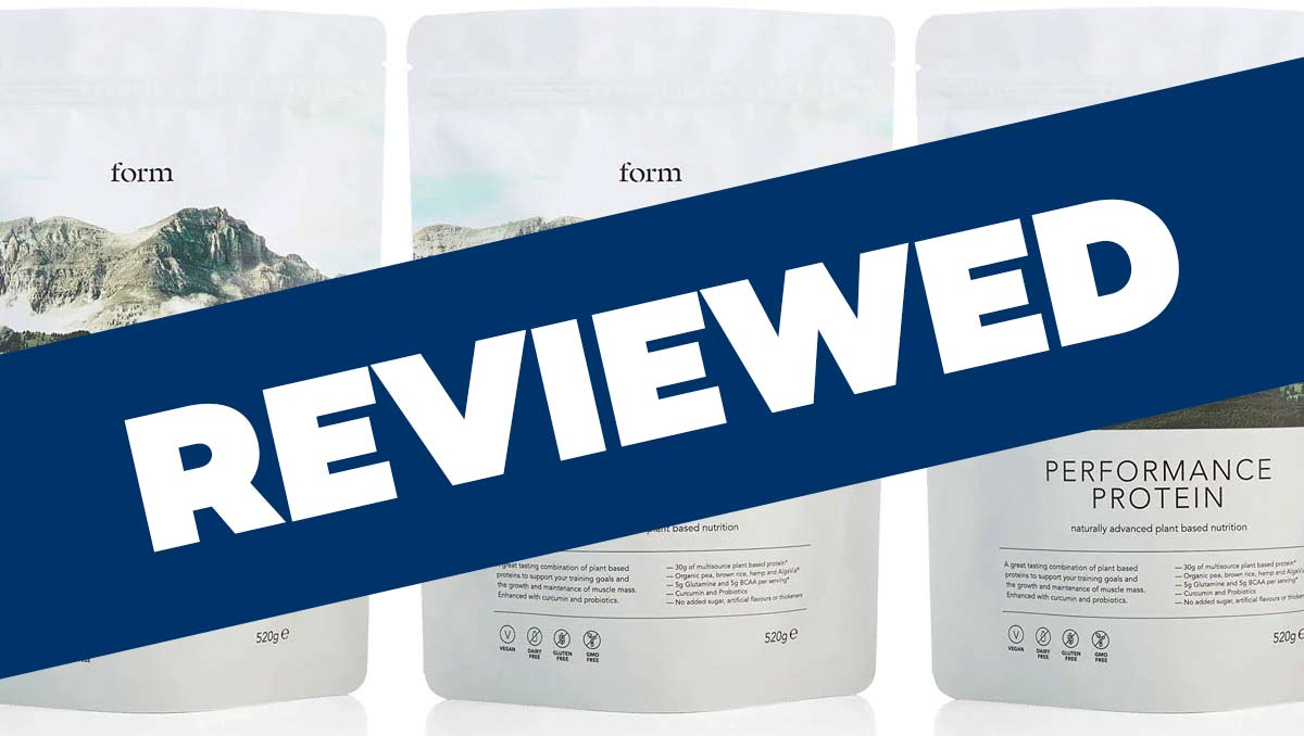 Form Performance Protein Review