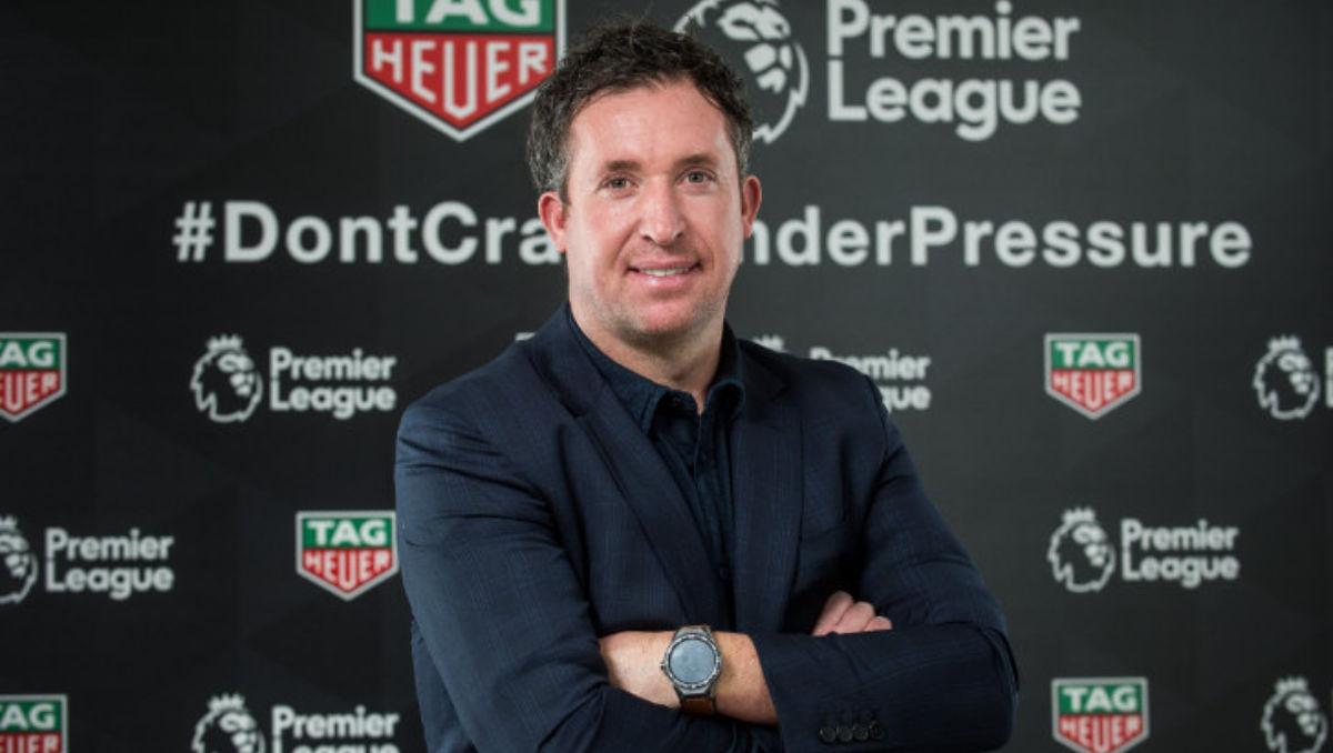Robbie Fowler in London (Photo: Tag Heuer / Daniel Lewis)