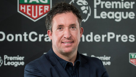 Robbie Fowler reacts to Daniel Sturridge's goal in Liverpool FC's 1-1 draw at Chelsea FC