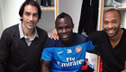 Frimpong remembers party with Arsenal stars