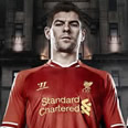 New Liverpool home kit: Reds unveil 2013-14 strip with retro design