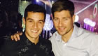 Photos: Gerrard snaps pictures with Liverpool stars past and present