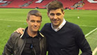 Gerrard posts Anfield snap with his brother