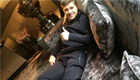 Liverpool skipper Gerrard rests his injured leg