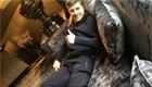 Liverpool skipper Gerrard rests his injured leg