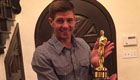 Gerrard gets his hands on an Oscar