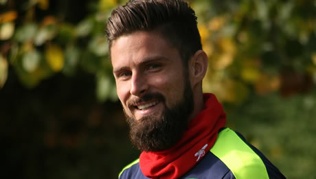 Olivier Giroud 'saddened' for Arsenal defender after injury setback