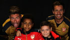 Watch Cech, Giroud and more surprise Arsenal fans