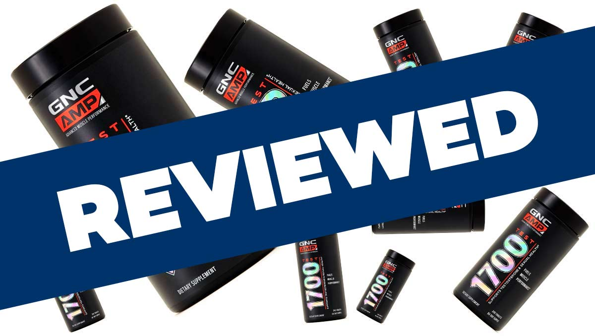 GNC AMP Test 1700 Review