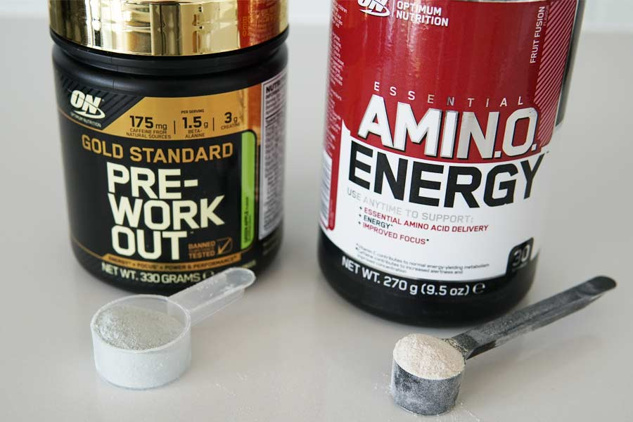 Gold Standard Pre Workout vs Amino Energy