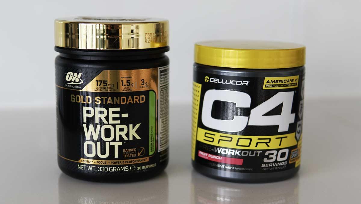 Gold Standard Pre Workout vs C4