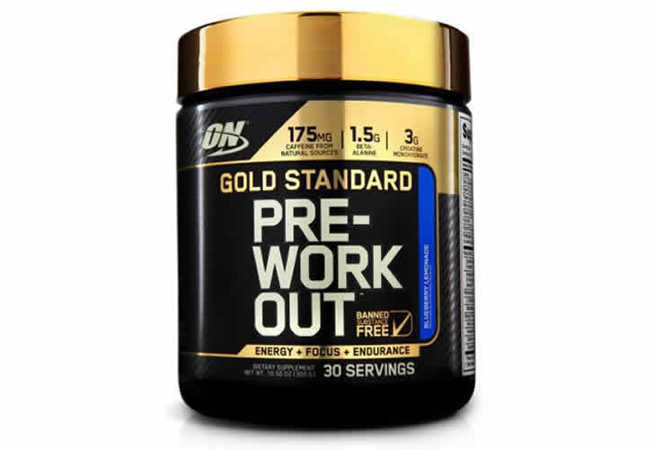 gold standard pre workout