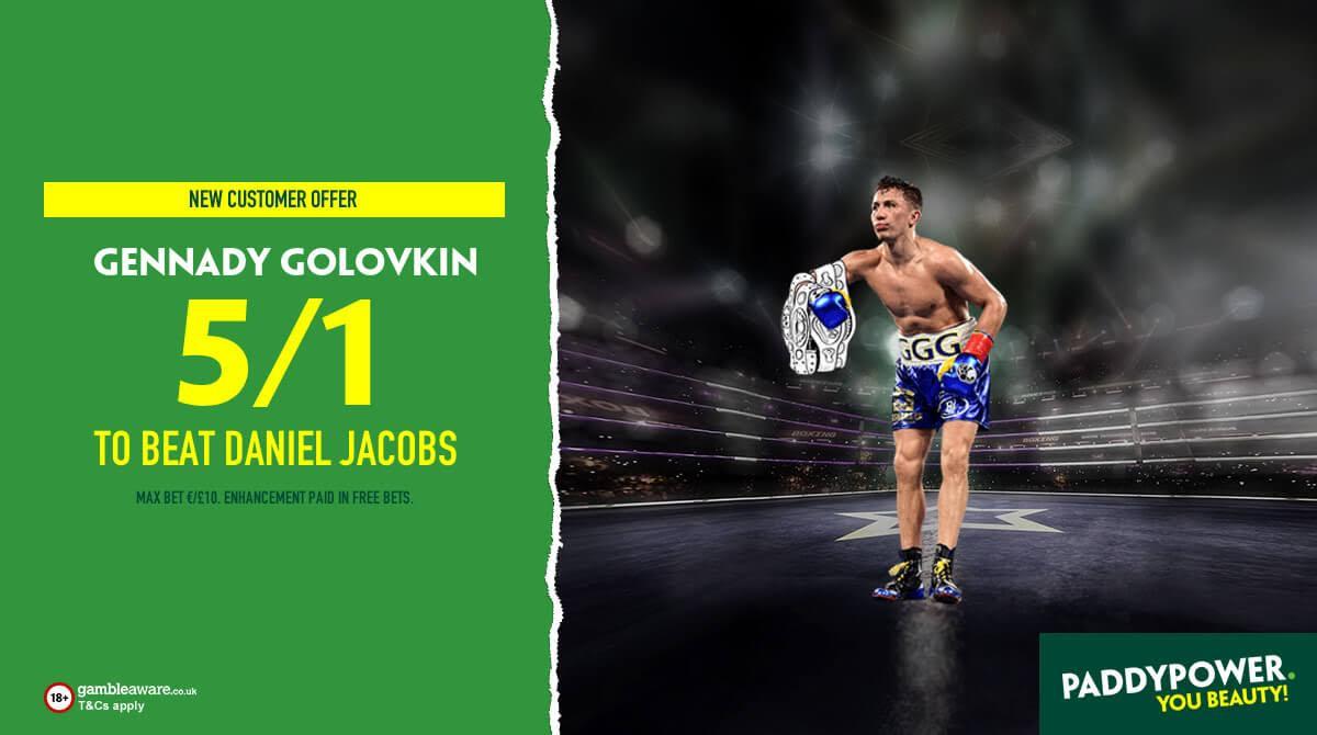 golovkin jacobs odds