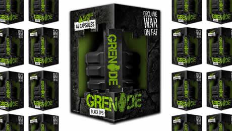 Grenade Black Ops fat burner review