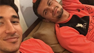 Photo: New Liverpool signing relaxes with Dejan Lovren ahead of Hull clash