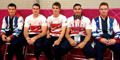 team gb gymnasts