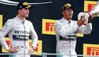 Lewis Hamilton: Seeing Nico Rosberg booed in Monza 'awkward'