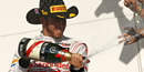 US Grand Prix 2012: Lewis Hamilton wins to keep Sebastian Vettel waiting