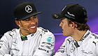 We're cool! Lewis Hamilton 'still friends' with Nico Rosberg after talks