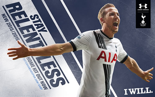 1e5a7c44c Harry Kane models Tottenham s new home kit Photo  Tottenham Hotspur FC