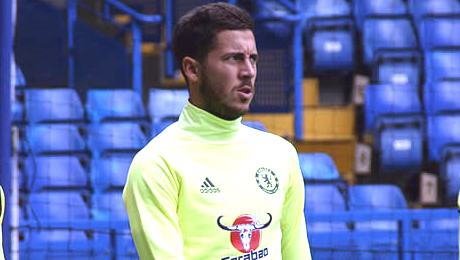 Photo: Eden Hazard sends message to new Chelsea signing
