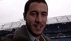 Photo: Eden Hazard thanks Chelsea fans after reaching landmark
