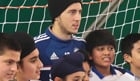Chelsea's Eden Hazard helps launch 2014 Asian Star at Cobham