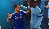 Video: Man City's Yaya Touré gives Chelsea's Eden Hazard clip round ear!