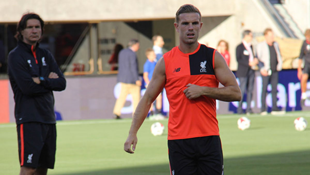 Jordan Henderson (Photo: The Sport Review)